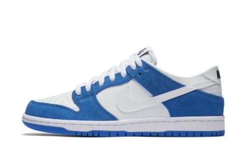 2021 Release Nike SB Dunk Low Pro Ishod Wair Blue Spark 819674-410