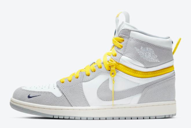 Air Jordan 1 Switch Light Smoke Grey Basketball Shoes CW6576-100