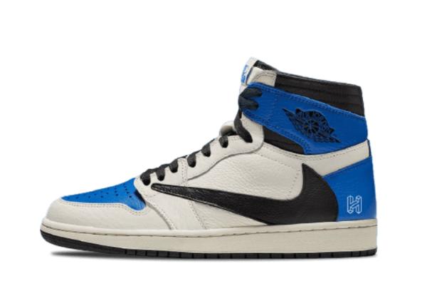 Travis Scott x Air Jordan 1 High OG Military Blue Low Price Sale DH3227-105
