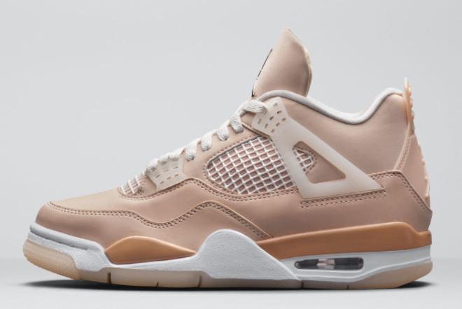 2021 Air Jordan 4 Shimmer Bronze Eclipse Women Sneakers DJ0675-200