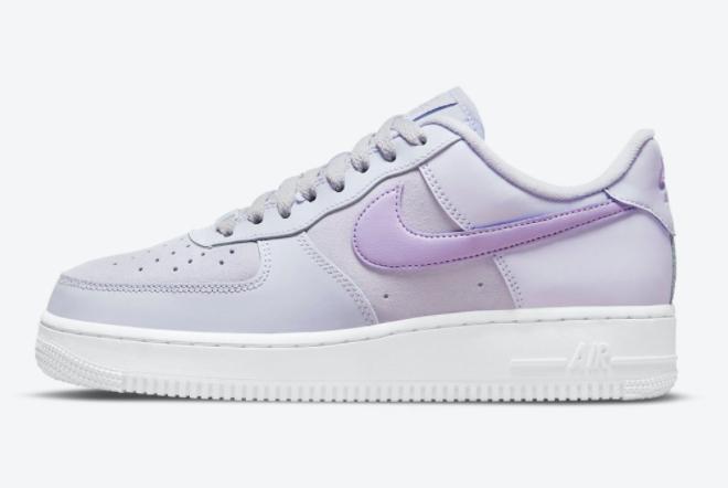 2021 Grade School Nike Air Force 1 Low Lavender DN5063-500