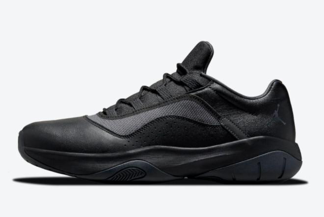 2021 Latest Release Air Jordan 11 CMFT Low Triple Black CW0784-003