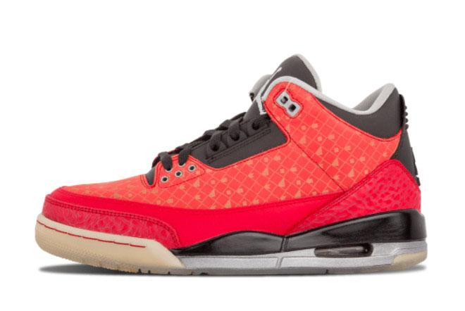 2021 New Air Jordan 3 Doernbecher Shoes 437536-600