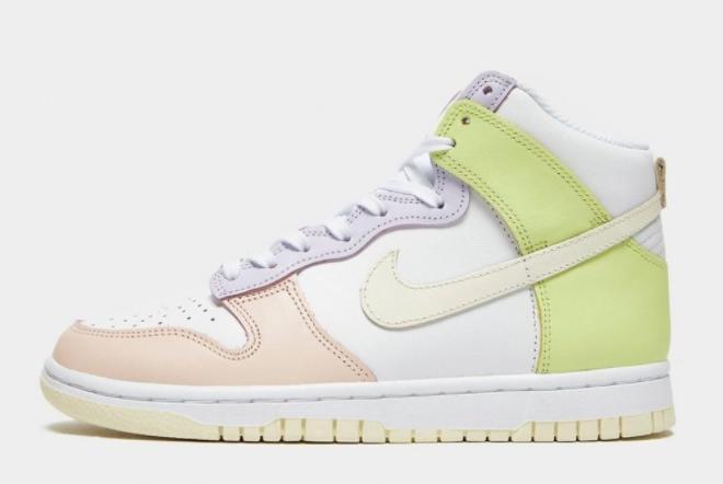 2021 New Release Nike Dunk High Lemon Twist DD1869-108