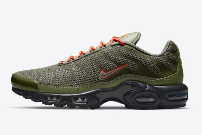 2021 Nike Air Max Plus Olive Reflective Cheap Sale DN7997-200