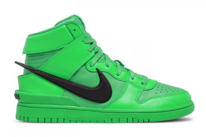 Ambush x Nike Dunk High Flash Lime New Arrival 2021