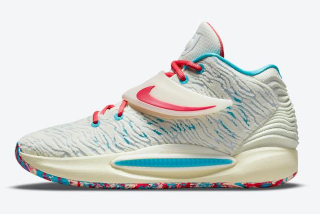 Buy The Latest Nike KD 14 Aquafresh Online Store CZ0170-700