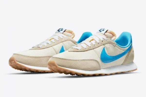 Cheap Nike Waffle Trainer 2 Shoe Dog White Blue DA2315-200-2