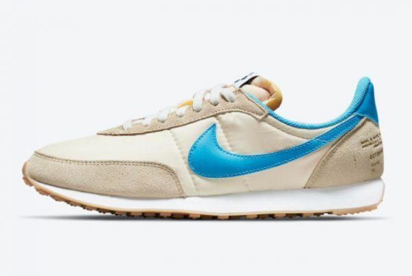 Cheap Nike Waffle Trainer 2 Shoe Dog White Blue DA2315-200