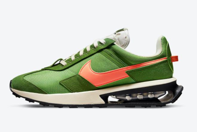Nike Air Max Pre-Day Green Orange For Sale DC5330-300