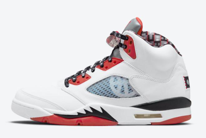 2021 Air Jordan 5 V Quai 54 Sneakers For Sale DJ7903-106