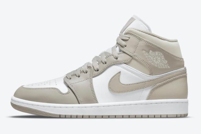 2021 Cheap Price Air Jordan 1 Mid Linen Fashion Shoes 554724-082