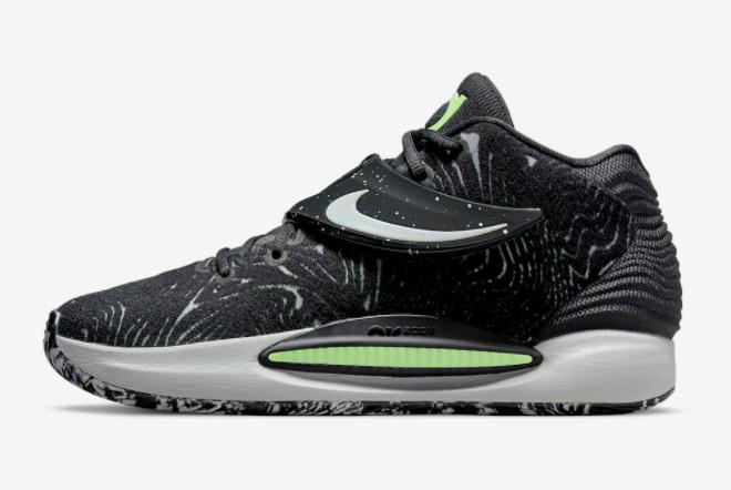 2021 Nike KD 14 Black Volt For Sale CW3935-005