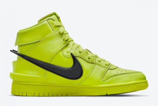 Ambush x Nike Dunk High Flash Lime Sneakers For Sale CU7544-300-1