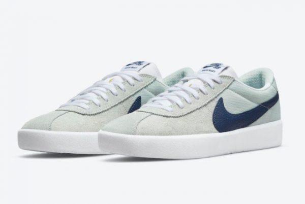 Cheap Nike SB Bruin React Mint Navy White Shoes CJ1661-004-1
