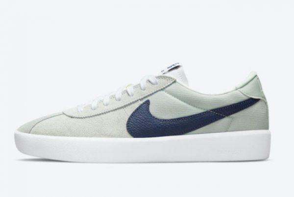 Cheap Nike SB Bruin React Mint Navy White Shoes CJ1661-004