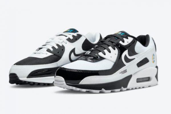 Latest Nike Air Max 90 Lucha Libre Hot Sell DM6178-010-2