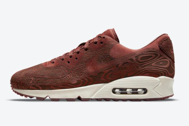 """2021 Nike Air Max 90 """"Laser"""" Men Sneakers DH4689-200"""