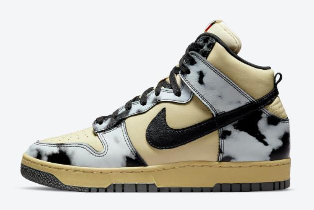2022 Nike Dunk High Black Acid Wash Sport Shoes DD9404-700