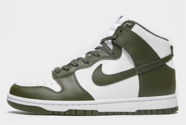 Hot Sale Nike Dunk High Cargo Khaki Sneakers DD1399-107