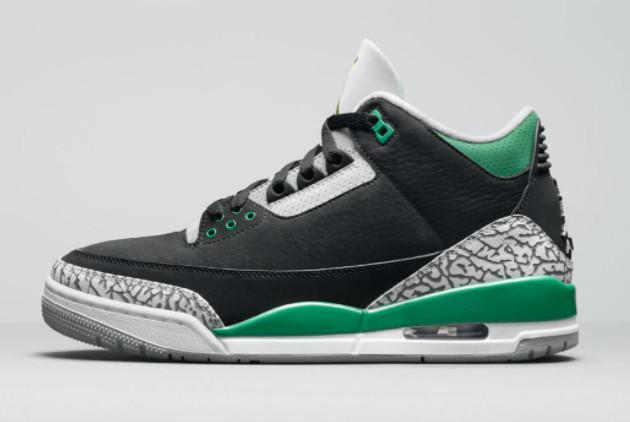 Air Jordan 3 Pine Green Basketball Shoes For Sale CT8532-030