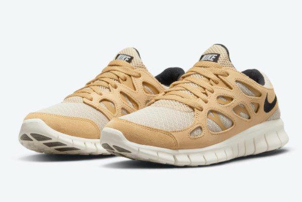 New Release Nike Free Run 2 Wheat DM9057-200-1