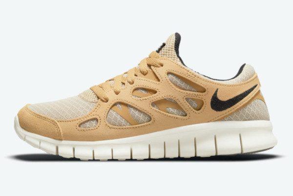 New Release Nike Free Run 2 Wheat DM9057-200
