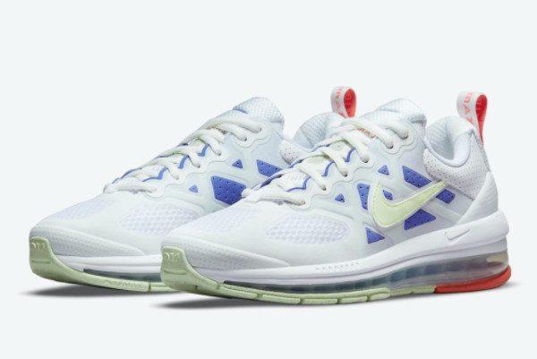 Nike Air Max Genome White Blue Men Sneakers DC4057-101-1