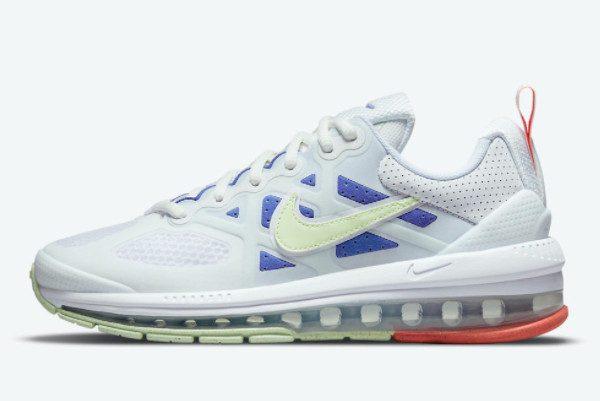 Nike Air Max Genome White Blue Men Sneakers DC4057-101
