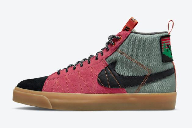 Nike SB Blazer Mid Premium Acclimate Pack Outlet DC8903-301