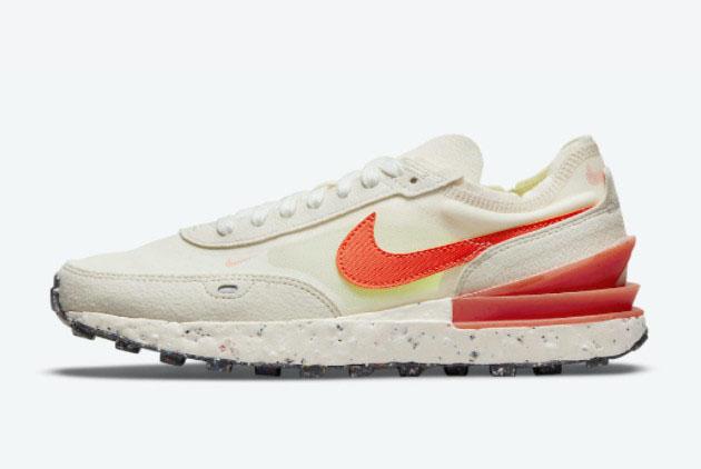 Nike Waffle One Sail Crimson Running Shoes DJ9640-101