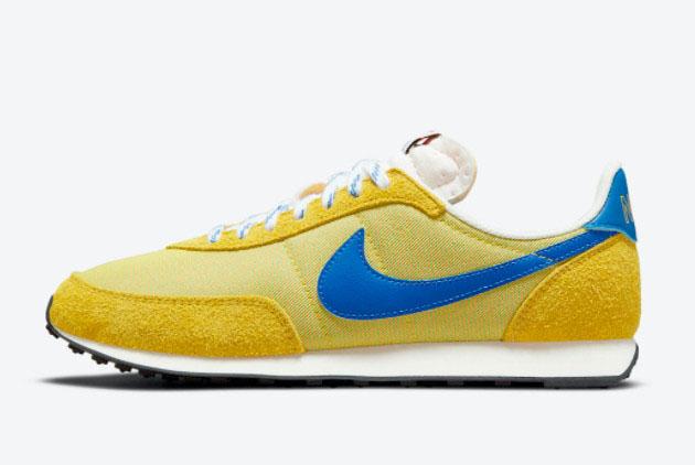 Nike Waffle Trainer 2 K2 Yellow Strike/Hyper Royal-Saturn Gold DC8865-700