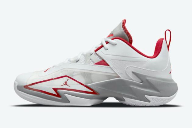 Wholesale Jordan Westbrook One Take 3 Fire Red Sneakers DC7701-100