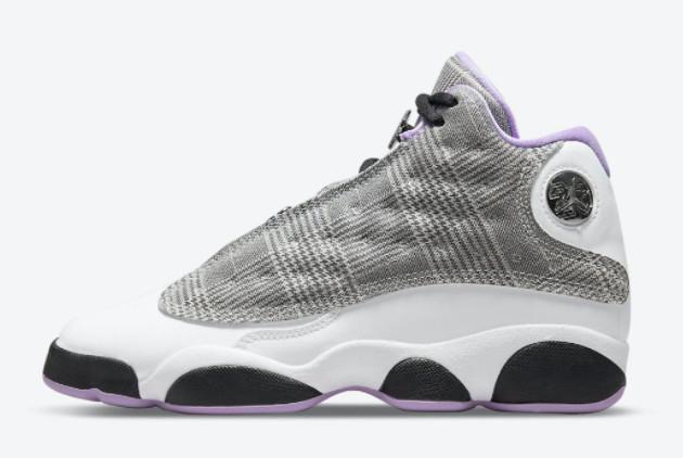 2021 Cheap Air Jordan 13 GS Houndstooth Sneakers DN3938-015