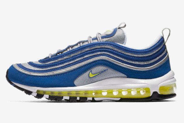 2022 Latest Nike Air Max 97 Atlantic Blue Sport Shoes