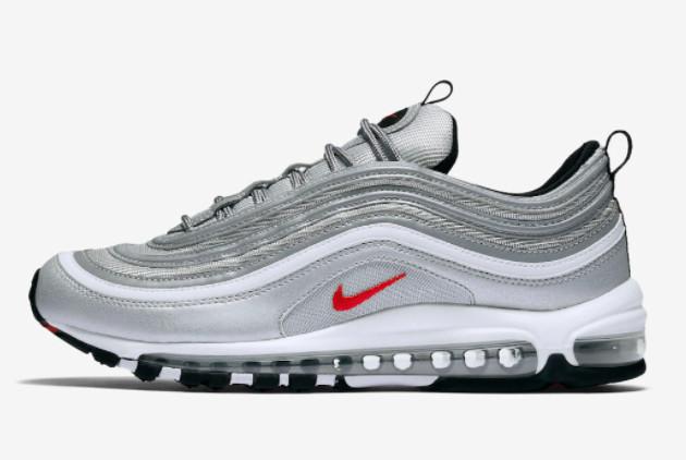 2022 Nike Air Max 97 Silver Bullet Basketball Shoes
