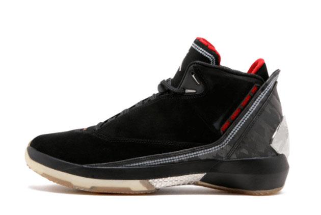 Air Jordan 22 Black Varsity Red For Sale 315299-001
