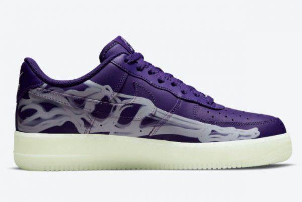 Brand New Nike AF1 Air Force 1 Purple Skeleton CU8067-500-1