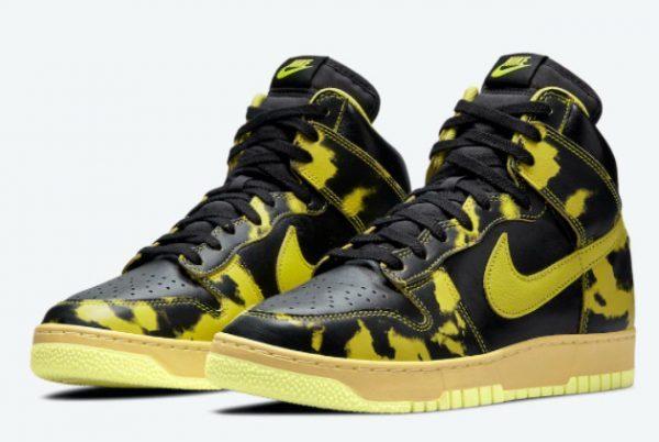 Buy Nike Dunk High 1985 Yellow Acid Wash Online DD9404-001-2