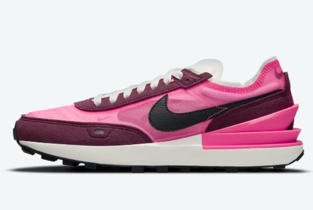 Cheap Nike Women Waffle One Hot Pink Trainers DQ0855-600