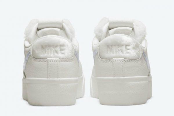 New Release Nike Blazer Low Platform Sail Metallic DO8993-100-2
